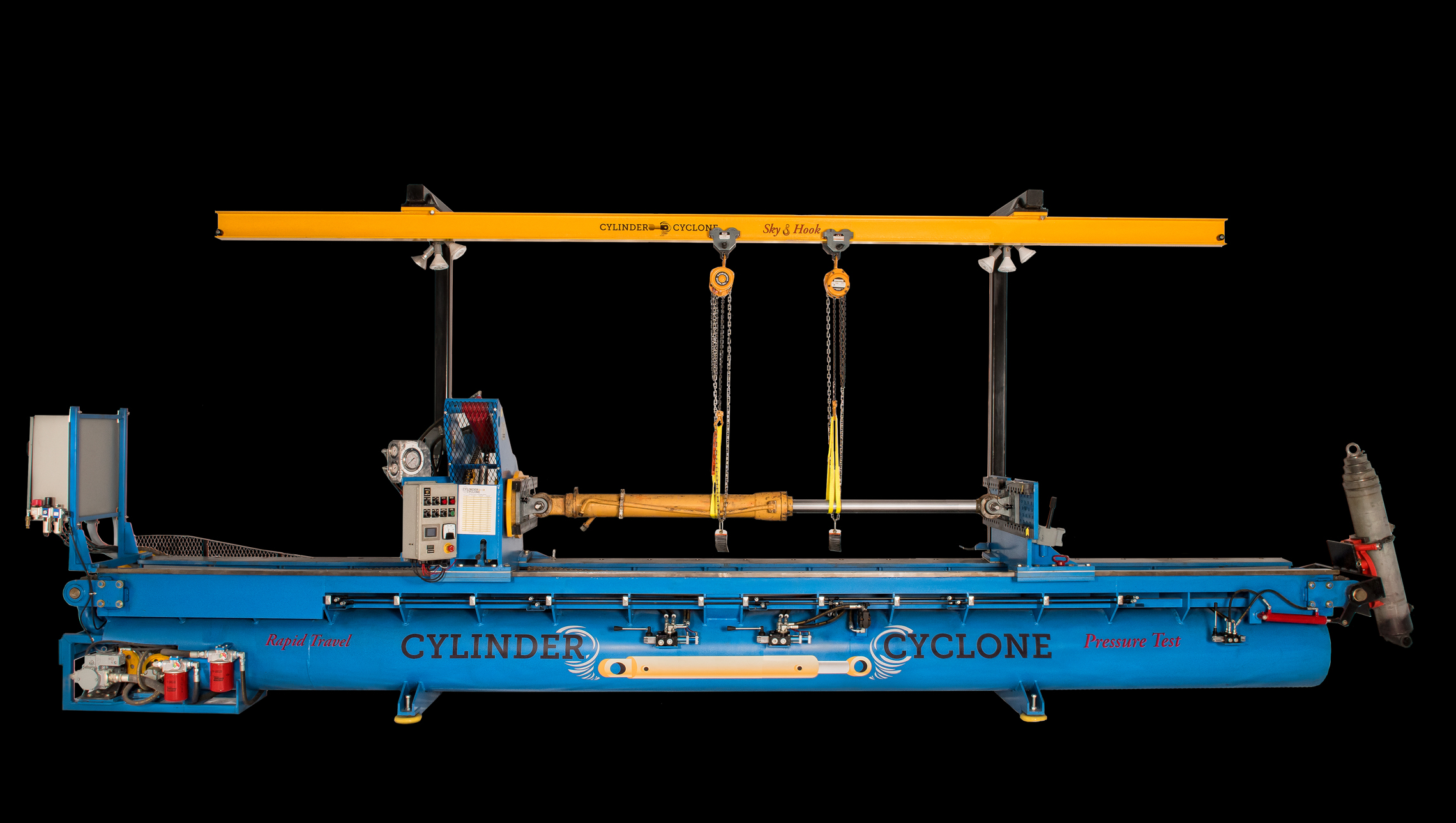 Cylinder Cyclone Specialized Hydraulic Repair Machine