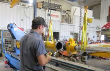 Repairing farm cylinders