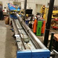 Repairing a large 167 inch cylinder