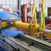 Repair large cylinders with the cylinder repair machine